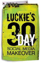 Social media makeover logo