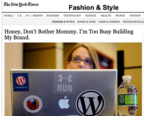 NYT Mom Screen