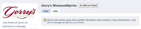 Facebook business friend